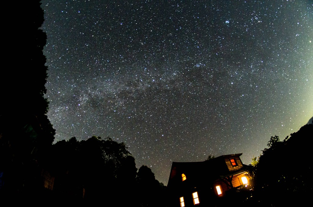 The autumn Milky Way at Oizumi Highland